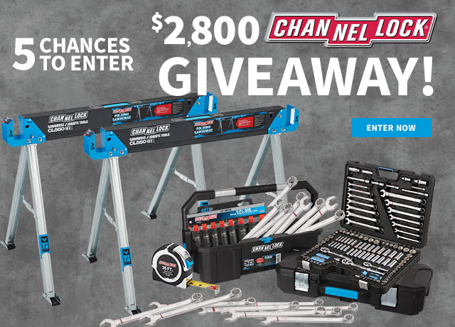 Channellock Giveaway