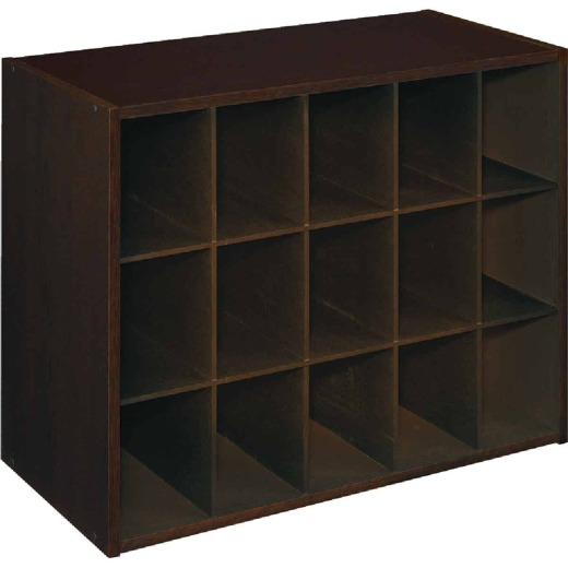 ClosetMaid Espresso 15 Cube Storage Stacker Organizer