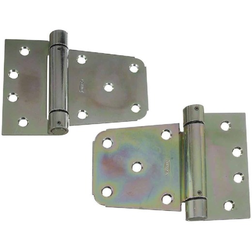 National 3-1/2 In. Zinc Heavy-Duty Gate Hinge Set (2 Count)