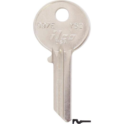 ILCO Yale Nickel Plated House Key, Y52 (10-Pack)