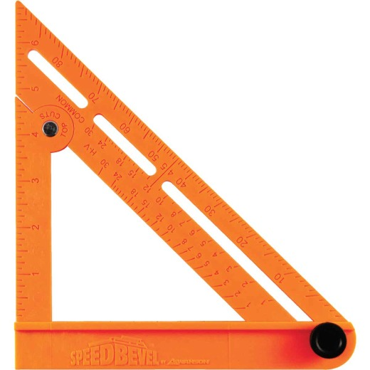 Swanson Speed Bevel 7 In. Plastic Folding Square and T-Bevel