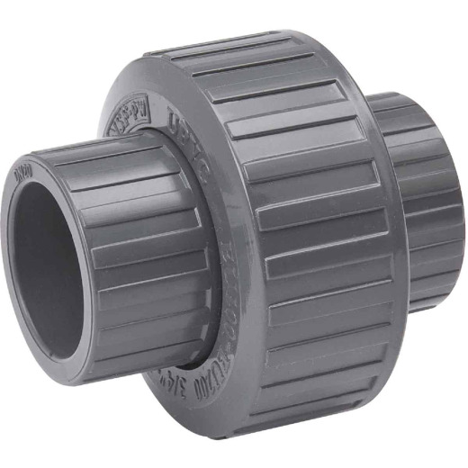B&K 1-1/4 In. Solvent Schedule 80 PVC Union