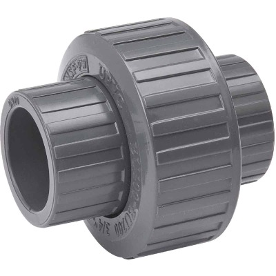 B&K 1 In. Solvent Schedule 80 PVC Union