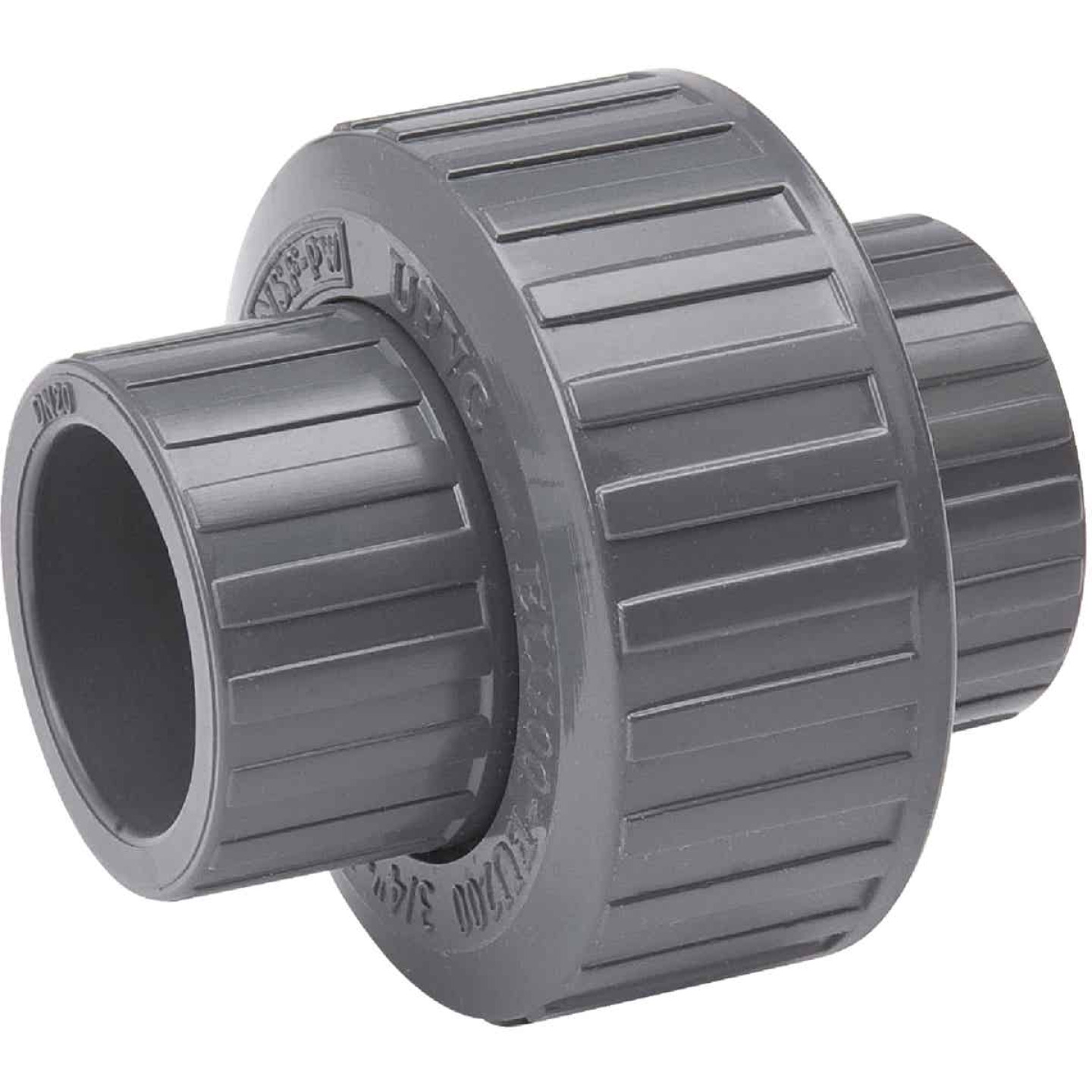 B&K 1/2 In. solvent Schedule 80 PVC Union Image 1
