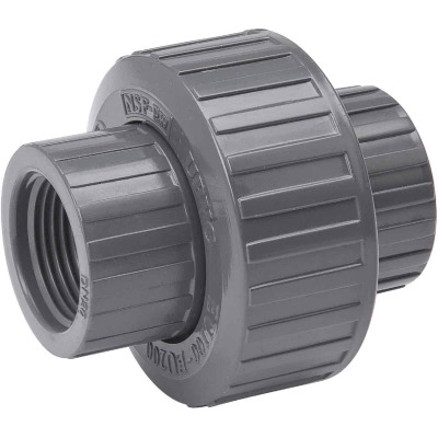 B&K 3/4 In. Threaded Schedule 80 PVC Union