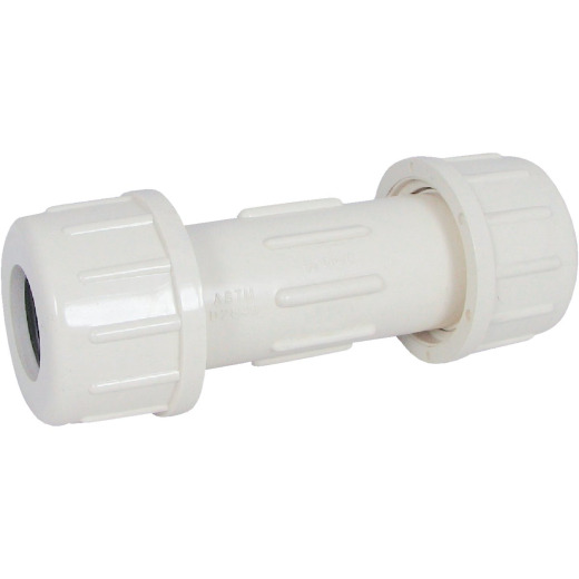 B&K 7/8 In. OD x 3/4 In. Compression CPVC Coupling