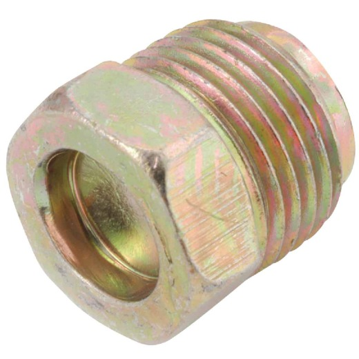 Anderson Metals 1/4 In. Brass Inverted Flare Plug