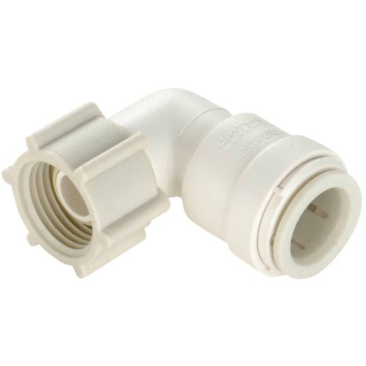 Watts 3/8 In. CTS x 1/2 In. FPT Quick Connect Plastic Elbow