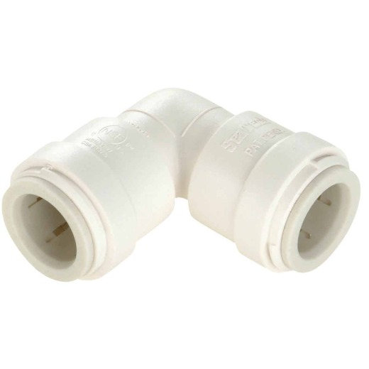 Watts 1/2 In. x 1/2 In. CTS Quick Connect Plastic Elbow