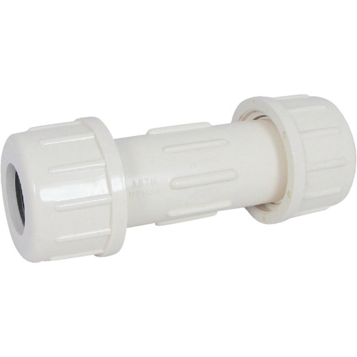 B&K 1-1/8 In. OD x 1 In. Compression CPVC Coupling