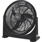 Best Comfort 16 In. 3-Speed Black Floor Fan Image 7