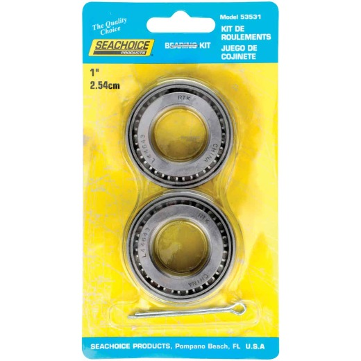 Seachoice 1 In. Marine Boat Trailer Bearing Set (2-Pack)