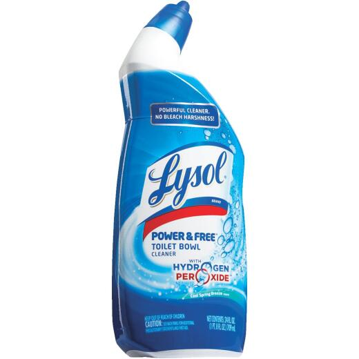 Lysol Power & Free 24 Oz. Toilet Bowl Cleaner