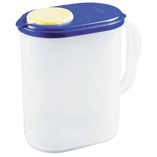 Sterilite UltraSeal 1 Gal. Frosted Plastic Pitcher with Pivot Top Spout