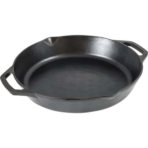 Lodge 10.25 In. Dual Handle Cast Iron Skillet
