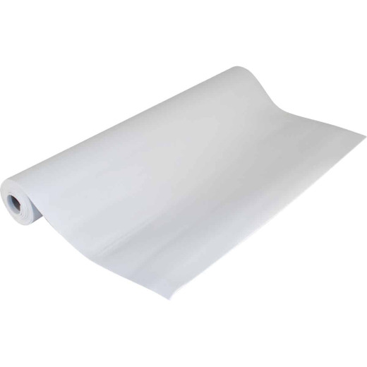 Con-Tact 18 In. x 4 Ft. White Grip Premium Non-Adhesive Shelf Liner