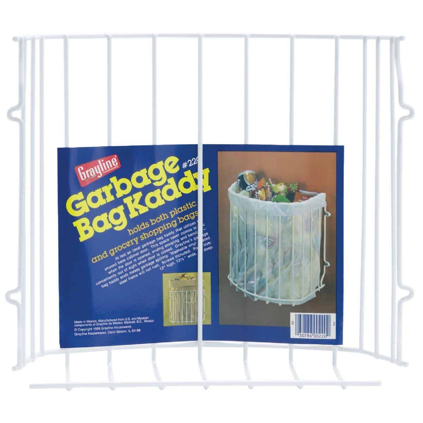 Grayline Garbage Bag Holder Image 1