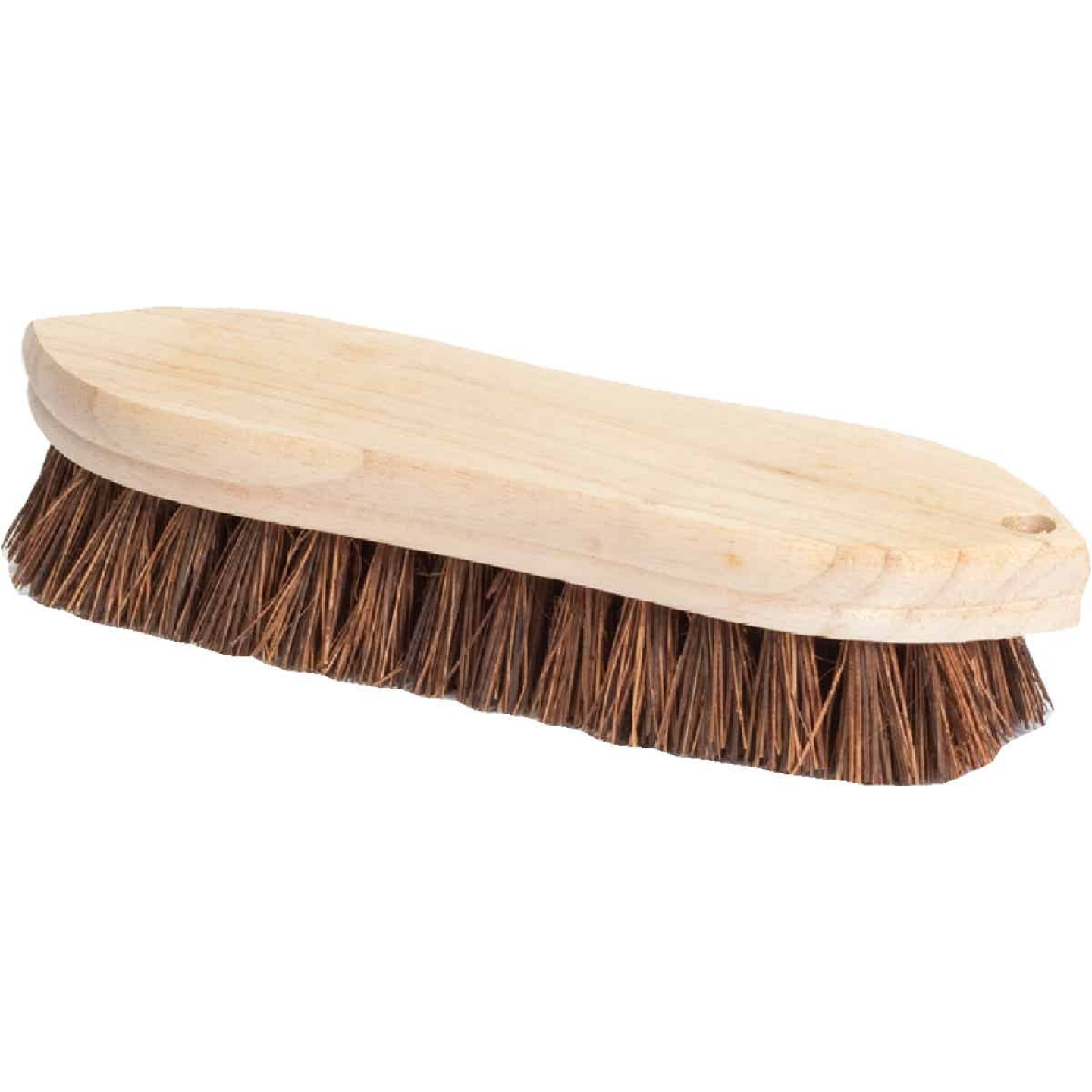 Do it 9 In. Palmyra Bristle Hardwood Scrub Brush Image 1