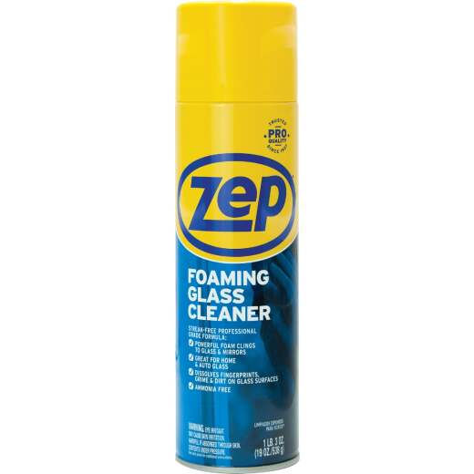Zep Commercial 19 Oz. Foaming Glass Cleaner