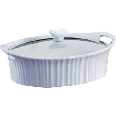 Corningware 2-1/2 Quart Oval Covered Casserole Dish