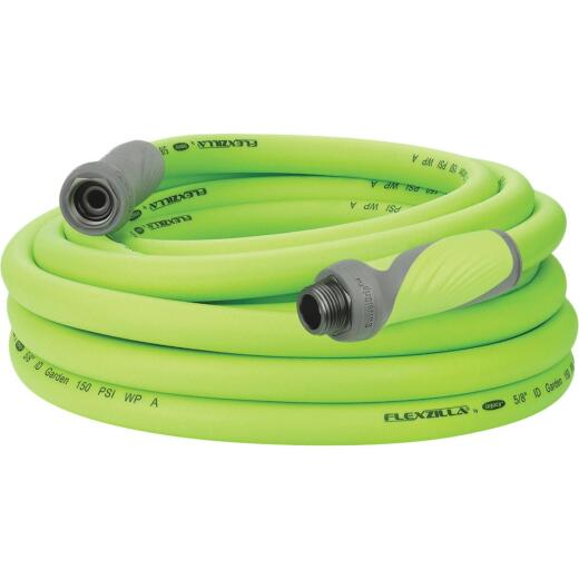Flexzilla 5/8 In. Dia. x 25 Ft. L. Drinking Water Safe Garden Hose with SwivelGrip Connections