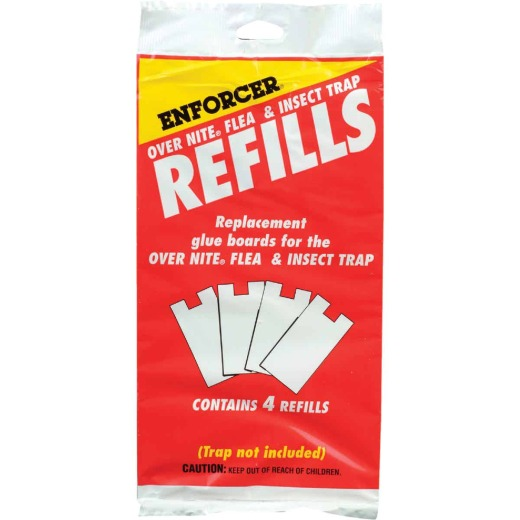 Enforcer Over Nite Insect & Flea Glue Trap Refill (4-Pack)