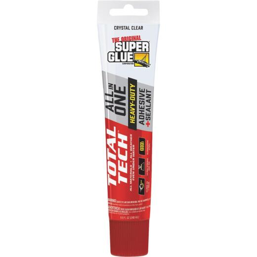 Super Glue Total Tech 4.2 Oz. Clear Construction Adhesive & Sealant
