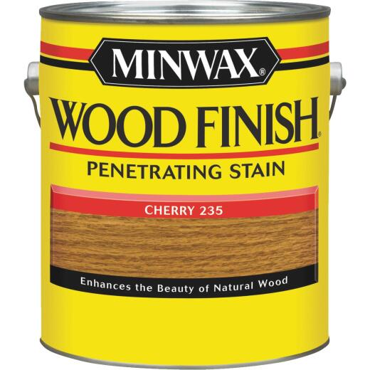 Minwax Wood Finish Penetrating Stain, Cherry, 1 Gal.
