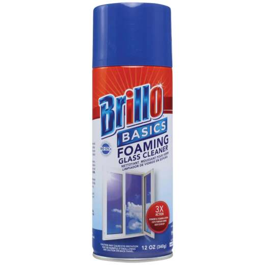 Brillo Basics 12 Oz. Spray Foam Fresh Citrus Glass & Surface Cleaner