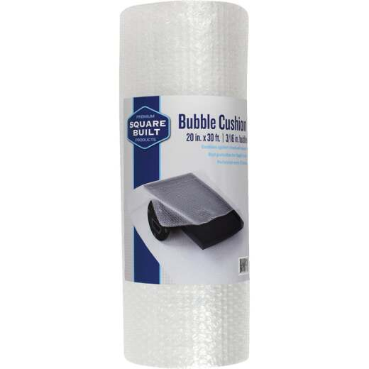 Square Built 20 In. x 30 Ft. x 3/16 In. Thick Bubble Cushion Wrap